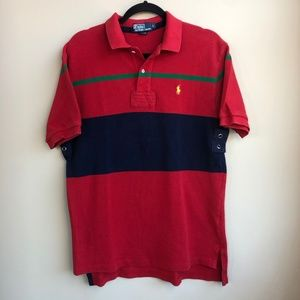 VTG Polo Ralph Lauren Woven Polo Shirt